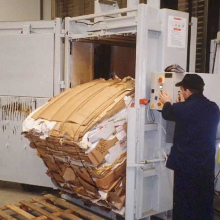 Balers for Cardboard and Plastic