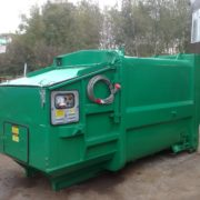 10yd3 8m3 Portable Compactor Manual Loading Refurbished 1