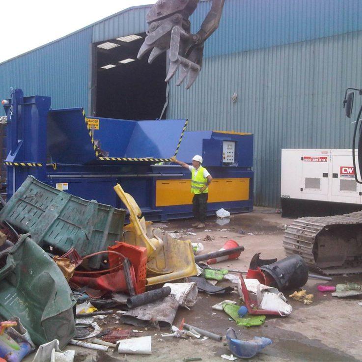 650HDE Hard Plastics 1 - Balers 10-20 tonnes per week