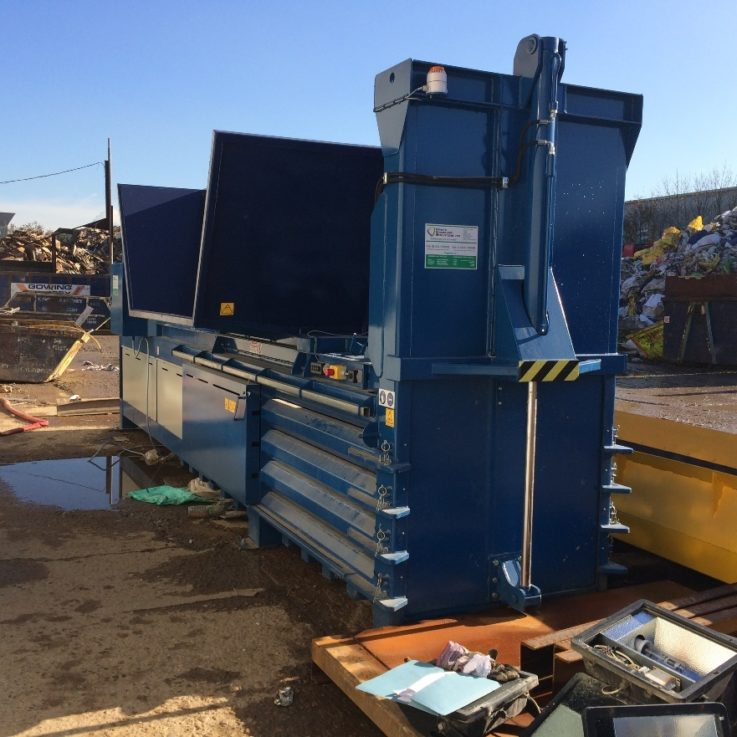 800HDE Semi-Auto (Gowing & Pursey) - Balers 10-20 tonnes per week