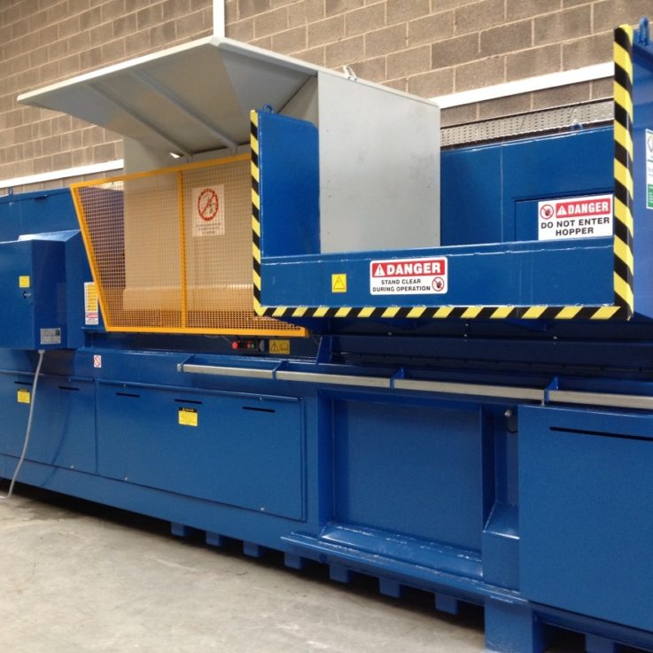 Baler with Bottle piercer - Balers 10-20 tonnes per week