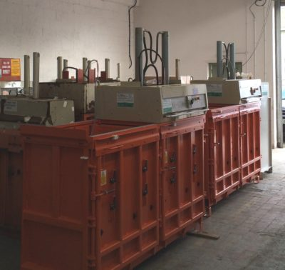 Balers in warehouse - Refurbished Stock