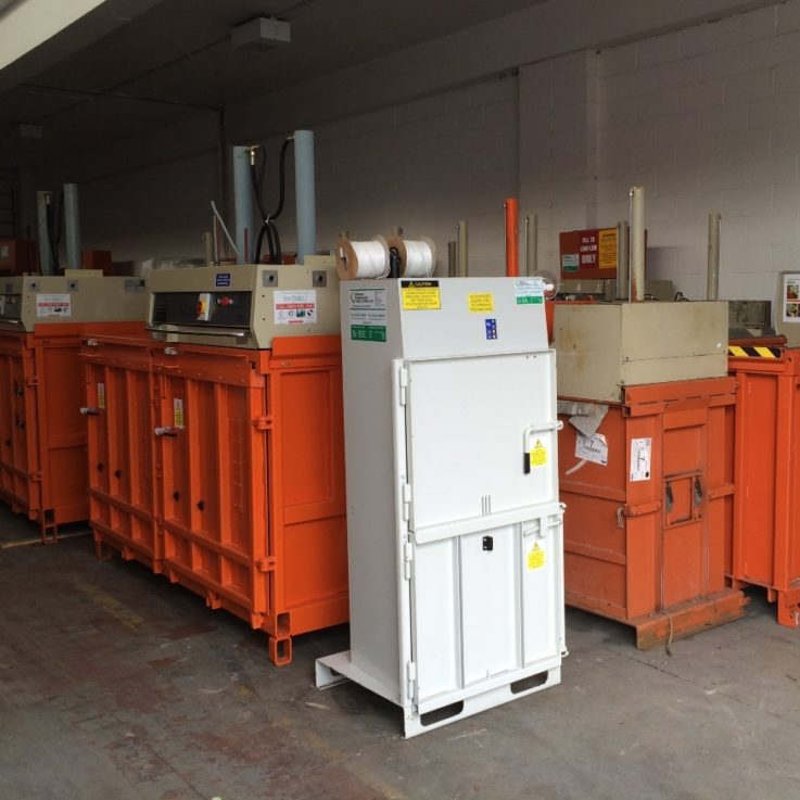 Balers in warehouse - used stock