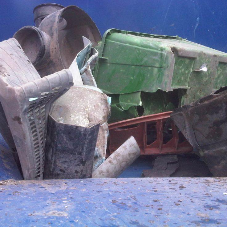 Baling Rigid Plastics - Balers 10-20 tonnes per week