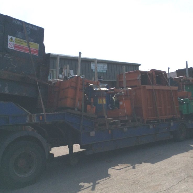 Delivery of used machines - used stock