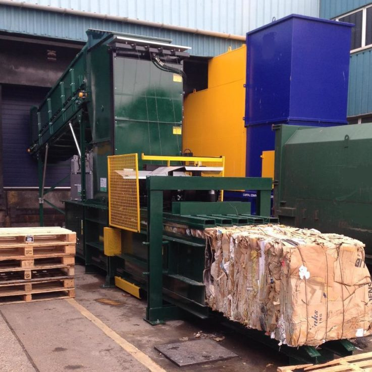Fully Auto Baler - 20+ tonnes per week