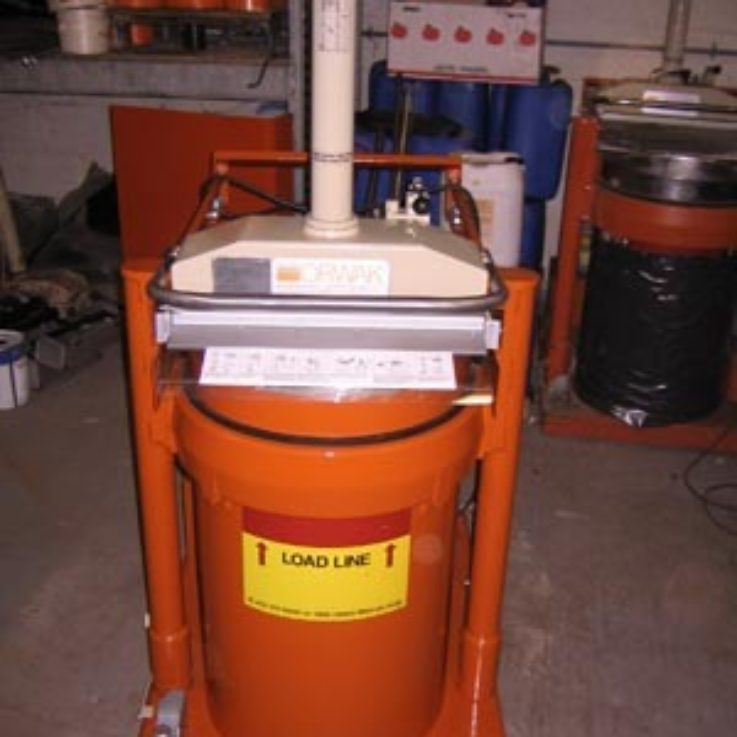 Used Bagging Compactor