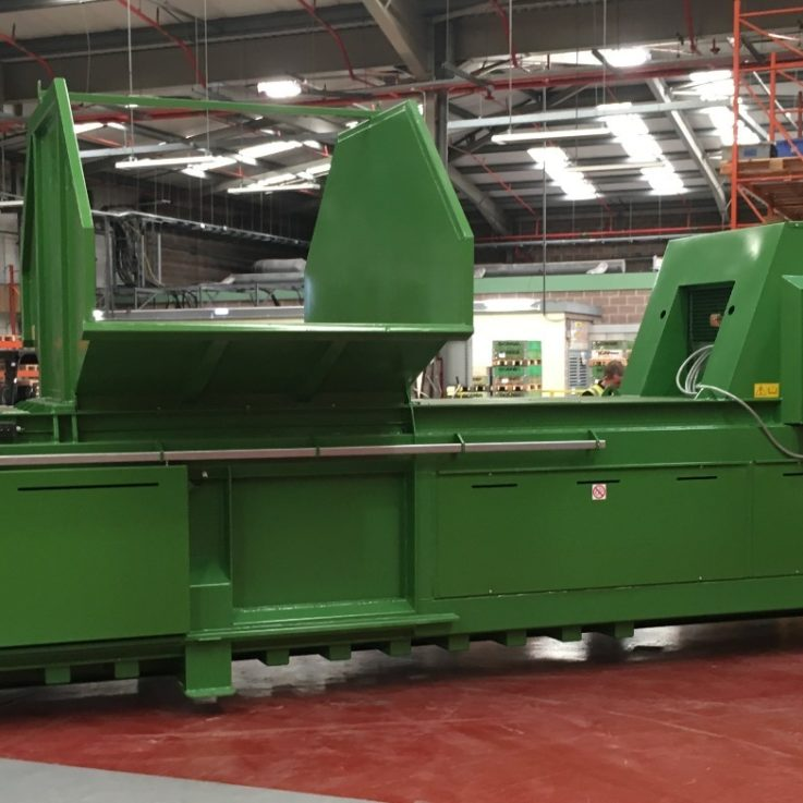 WHS 650HDE Trico installed - Balers 10-20 tonnes per week