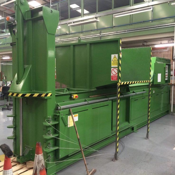 WHS500HD Trico - Balers 10-20 tonnes per week