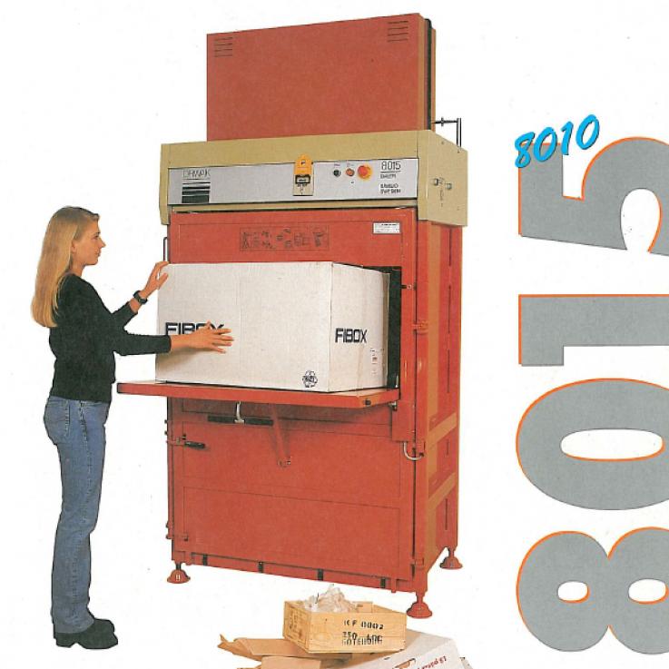 8010/8015 Cabinet-Style Baler
