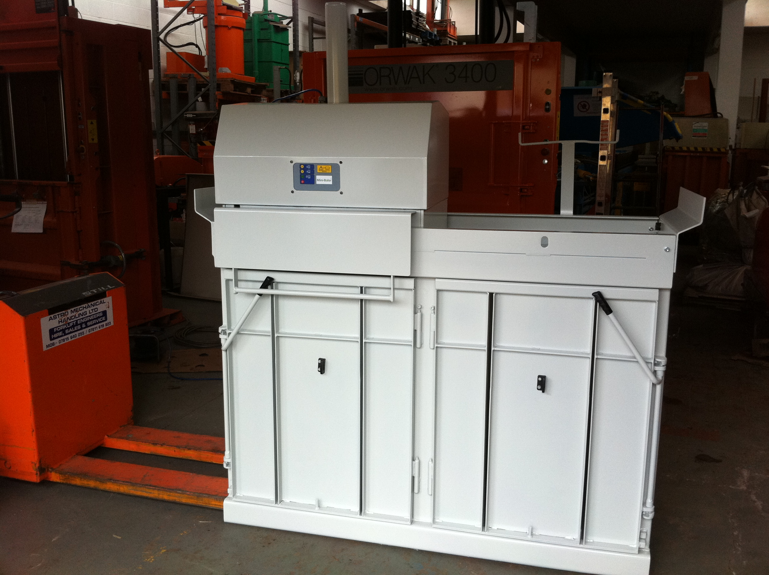Twin Chamber baler refurbished